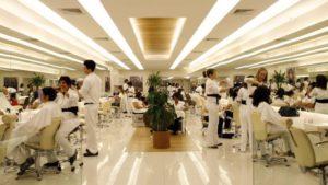Limpeza e organização são fundamentais em um salão de beleza
