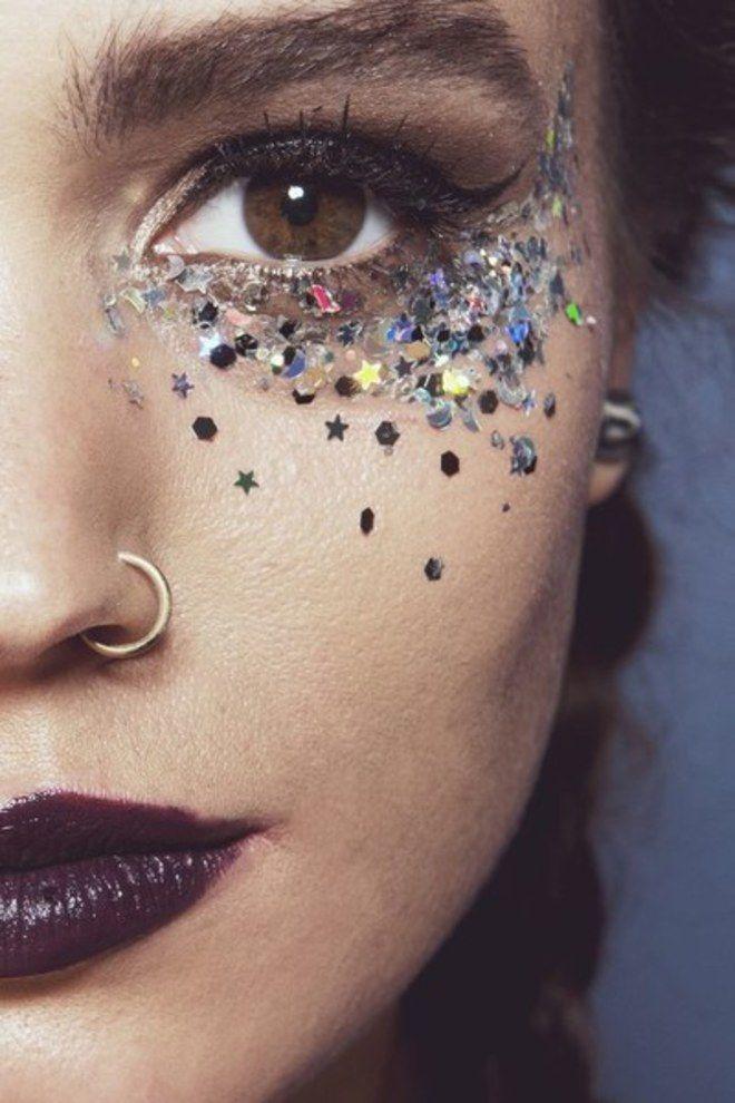 maquiagem com adesivo