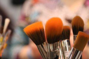 pincéis de maquiagem