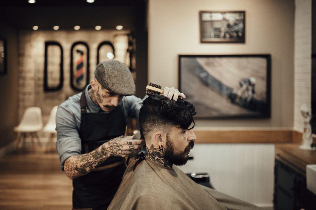 A profissão de barbeiro