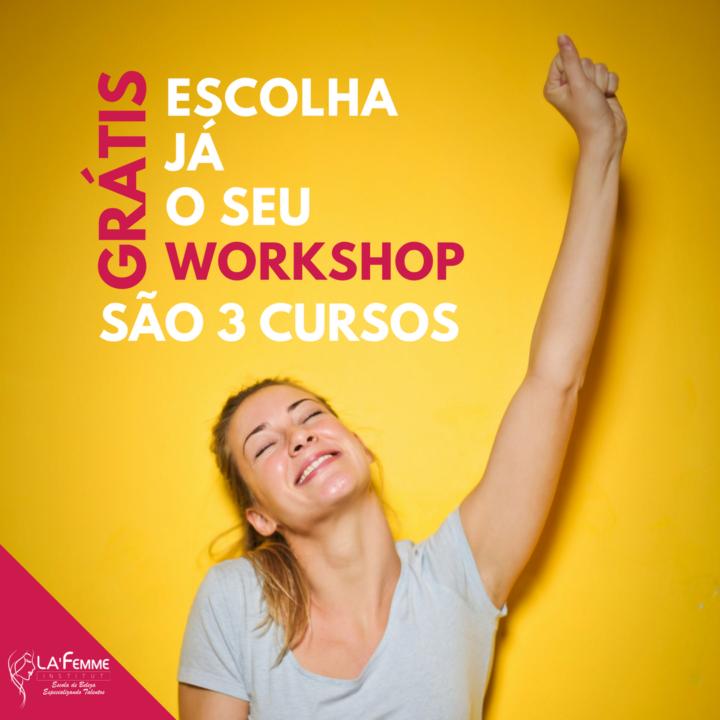 São Mateus está com inscrições abertas para 3 workshops GRÁTIS